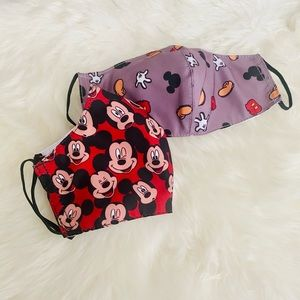 ✨Sale✨ Mickey Mouse 2 pc. Kids Face …